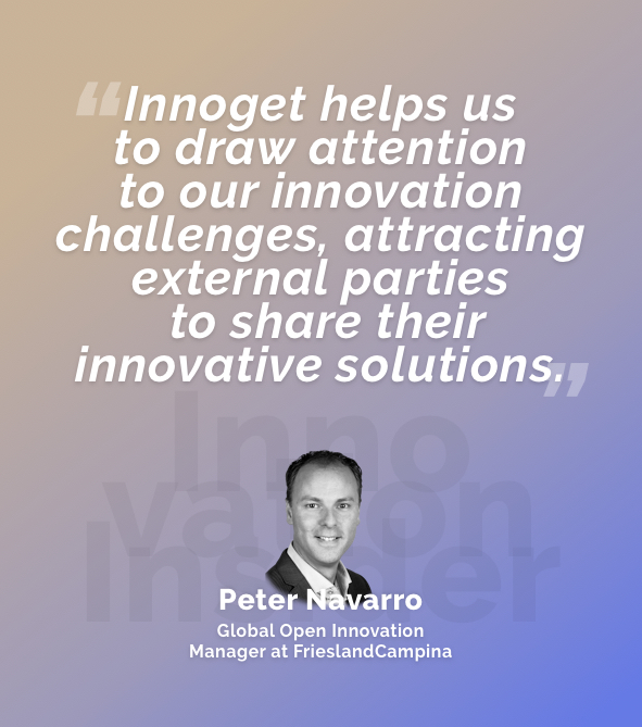 Innovation Insider: An interview with Mr. Peter Navarro, Global Open Innovation Manager at FrieslandCampina