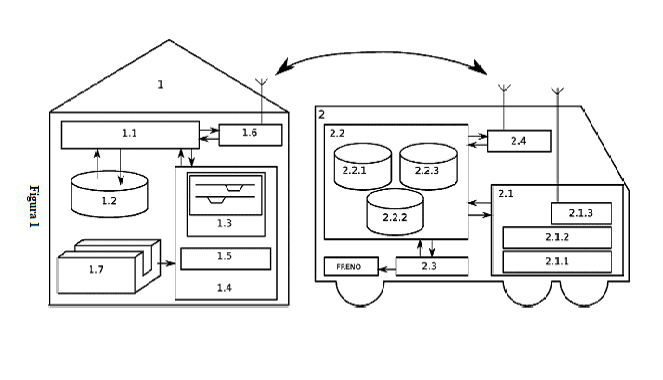 Method and system to improve the ASFA Digital system incorporating virtual ASFA beacons