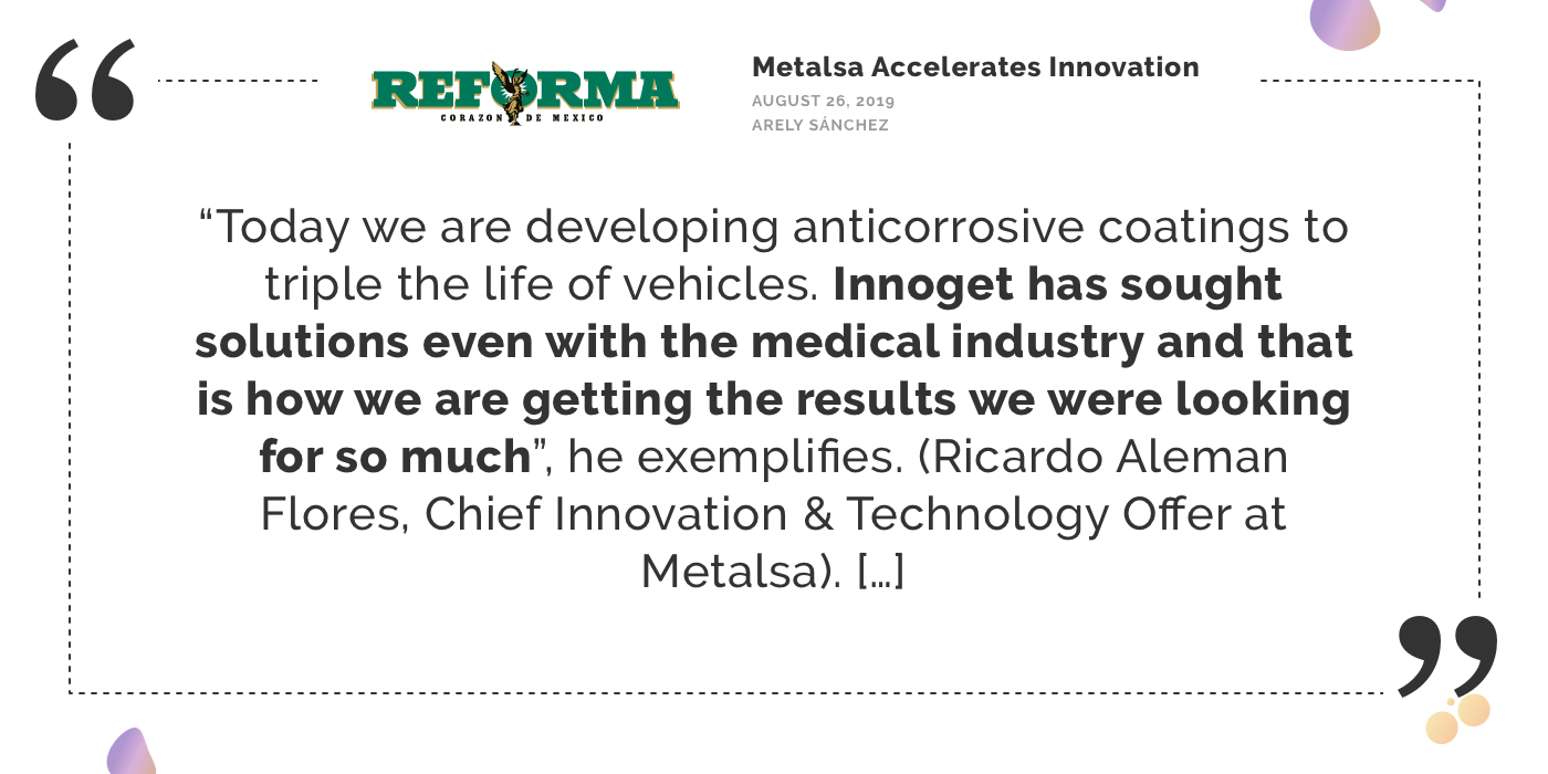 "Innovation Insider: An interview with Ricardo Aleman Flores, Chief Innovation & Technology Officer at Metalsa, on how ""Metalsa Accelerates Innovation"""