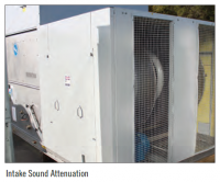 Seeking novel materials and technologies to deliver new and improved sound attenuation to industrial heat rejection equipment