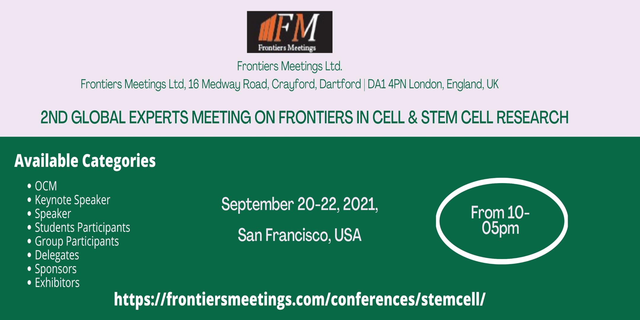 Stem Cell Conferences
